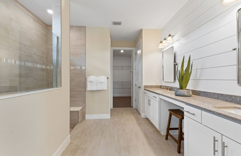 Bathroom featured in the Reverence By DiVosta Homes in Sarasota-Bradenton, FL