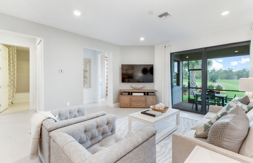 Living Area featured in the Seagrove By DiVosta Homes in Sarasota-Bradenton, FL