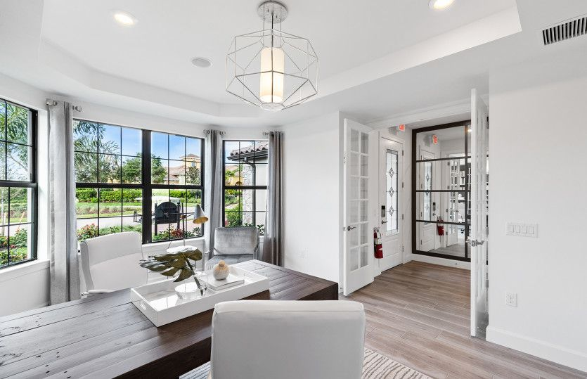 Living Area featured in the Stardom By DiVosta Homes in Sarasota-Bradenton, FL
