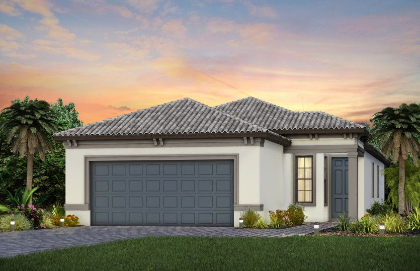 Exterior featured in the Compass By DiVosta Homes in Sarasota-Bradenton, FL