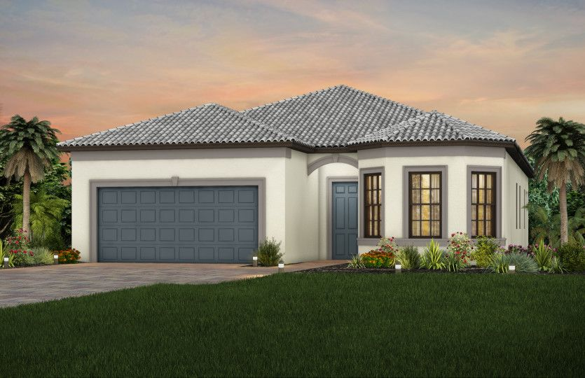 Exterior featured in the Mystique By DiVosta Homes in Sarasota-Bradenton, FL