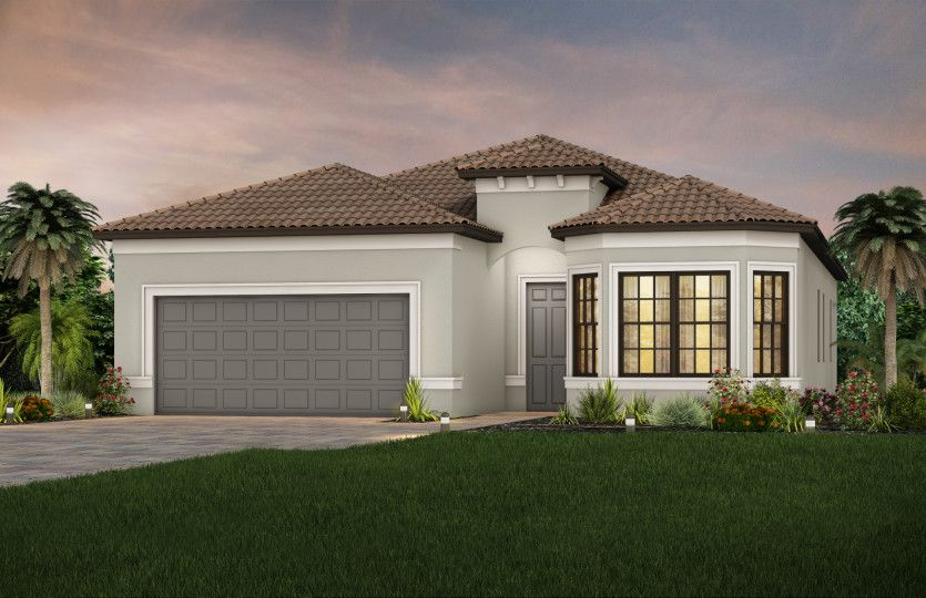 Exterior featured in the Mystique By DiVosta Homes in Sarasota-Bradenton, FL