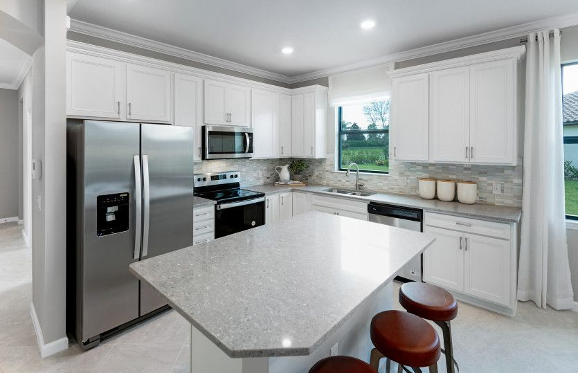 Kitchen featured in the Ellenwood By DiVosta Homes in Indian River County, FL