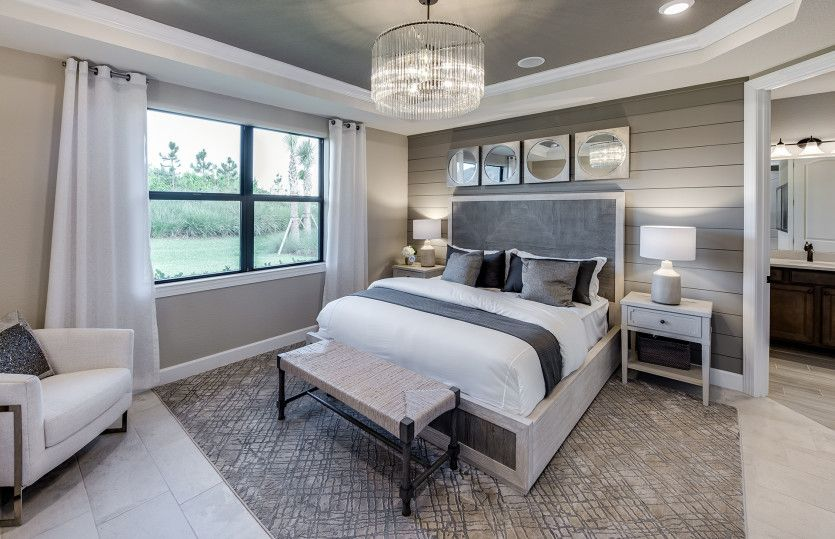 Bedroom featured in the Mainstay By DiVosta Homes in Indian River County, FL