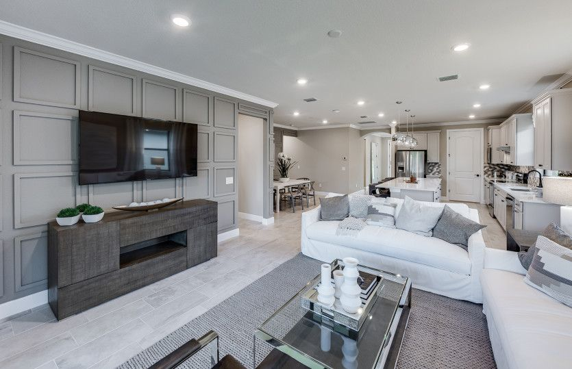 Living Area featured in the Mainstay By DiVosta Homes in Indian River County, FL