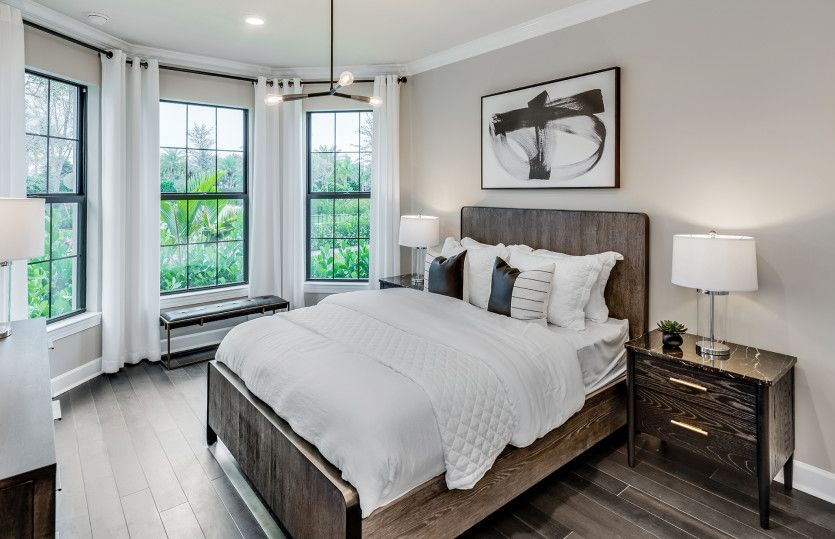 Bedroom featured in the Prestige By DiVosta Homes in Indian River County, FL