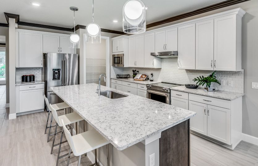 Kitchen featured in the Prestige By DiVosta Homes in Indian River County, FL