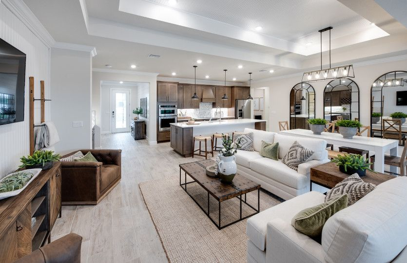 Living Area featured in the Stardom By DiVosta Homes in Indian River County, FL