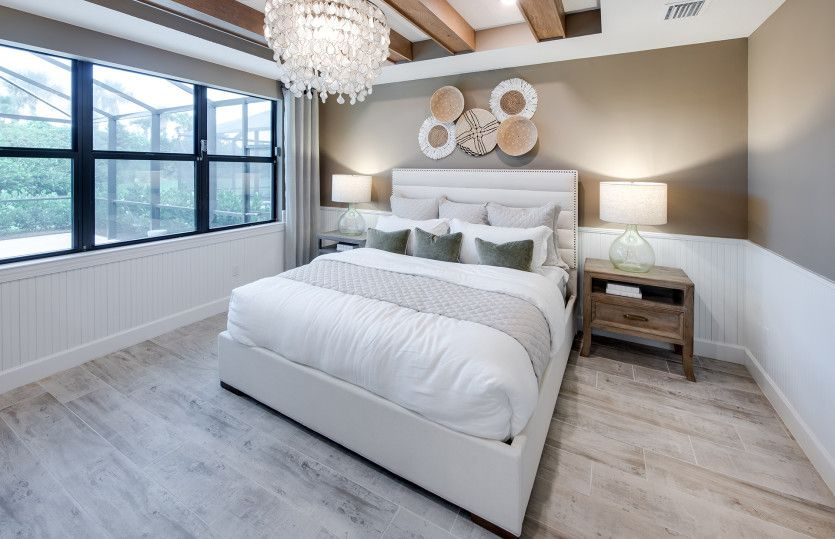 Bedroom featured in the Stardom By DiVosta Homes in Indian River County, FL