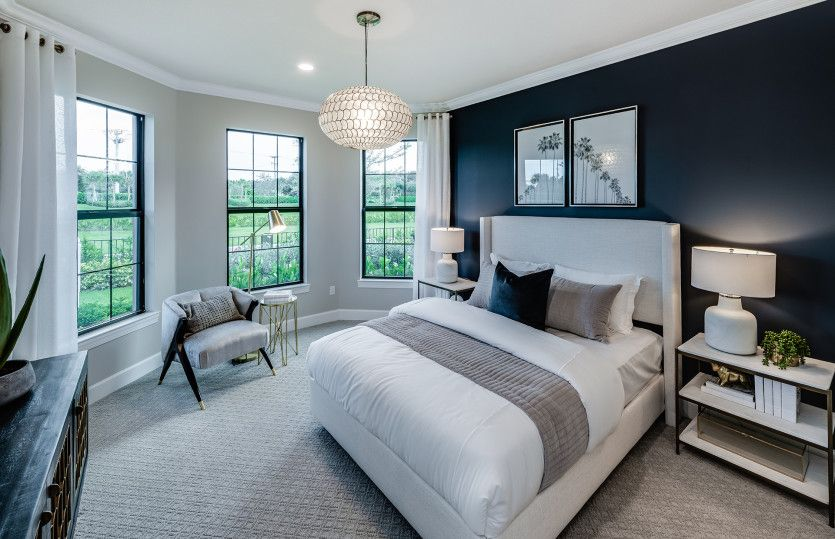 Bedroom featured in the Reverence By DiVosta Homes in Indian River County, FL