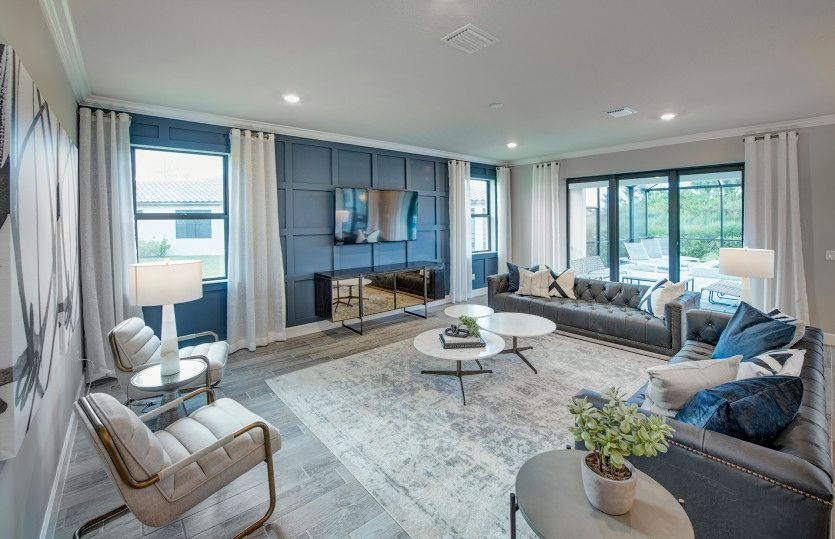 Living Area featured in the Reverence By DiVosta Homes in Indian River County, FL