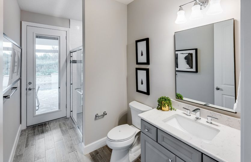 Bathroom featured in the Reverence By DiVosta Homes in Indian River County, FL