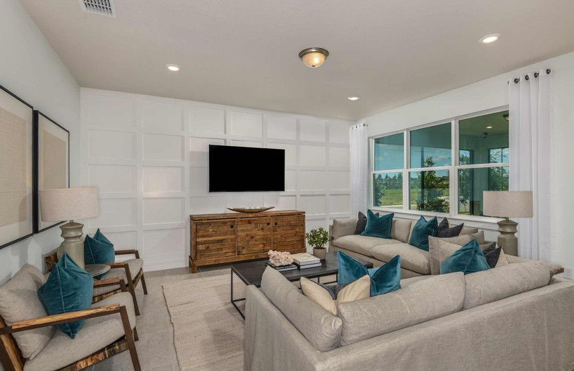 Living Area featured in the Cedar By DiVosta Homes in Martin-St. Lucie-Okeechobee Counties, FL