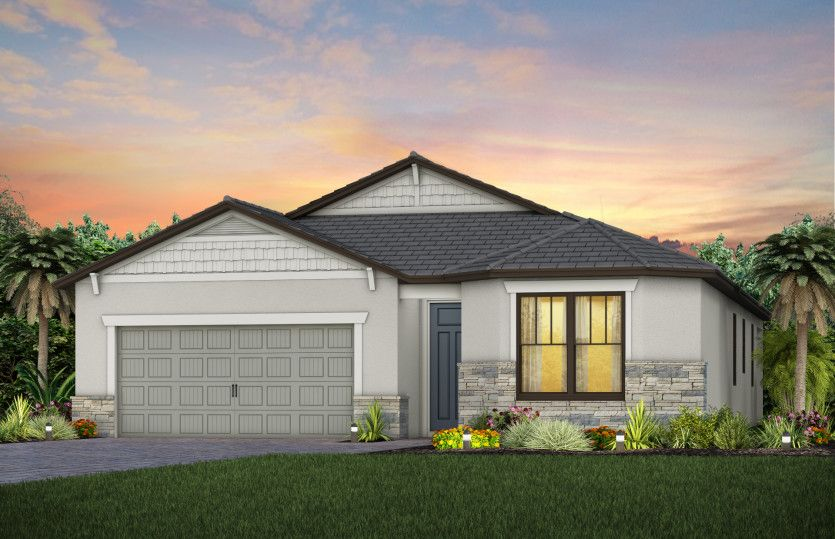 Exterior featured in the Highgate By DiVosta Homes in Martin-St. Lucie-Okeechobee Counties, FL