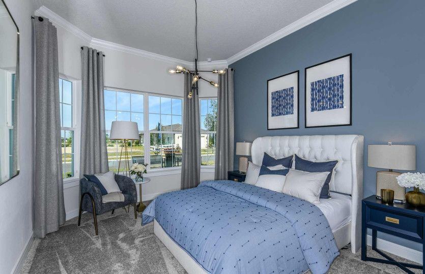 Bedroom featured in the Prestige By DiVosta Homes in Martin-St. Lucie-Okeechobee Counties, FL