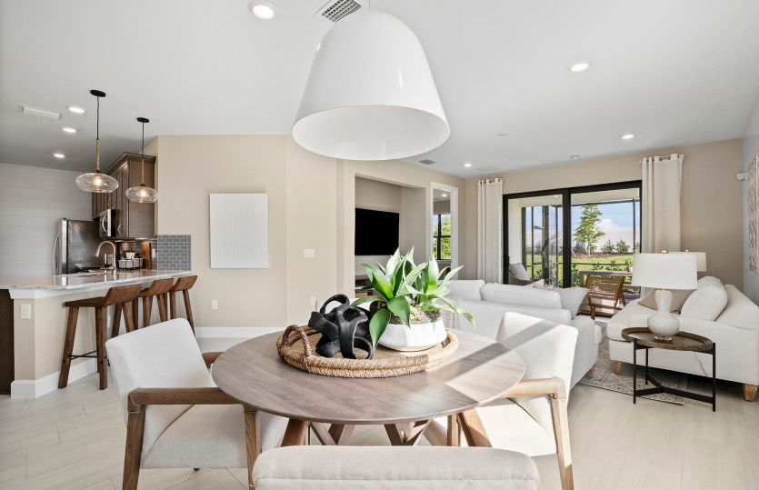 Living Area featured in the Cascadia By DiVosta Homes in Sarasota-Bradenton, FL
