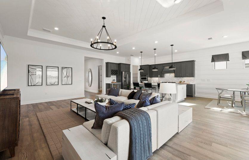 Living Area featured in the Stellar By DiVosta Homes in Sarasota-Bradenton, FL