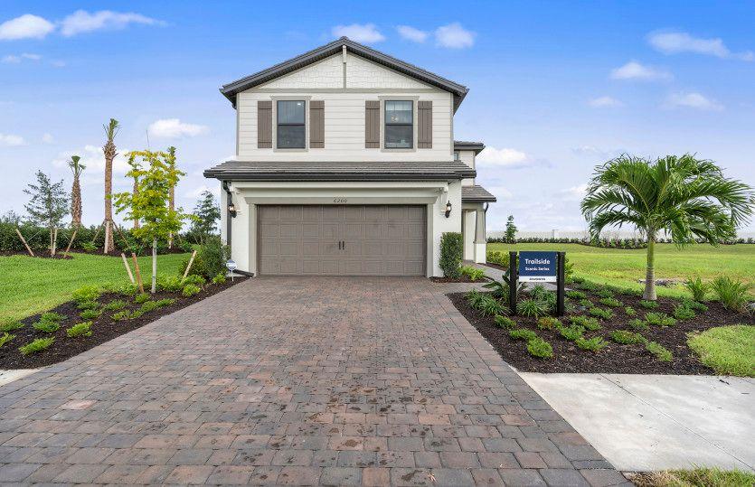 Exterior featured in the Trailside By DiVosta Homes in Sarasota-Bradenton, FL