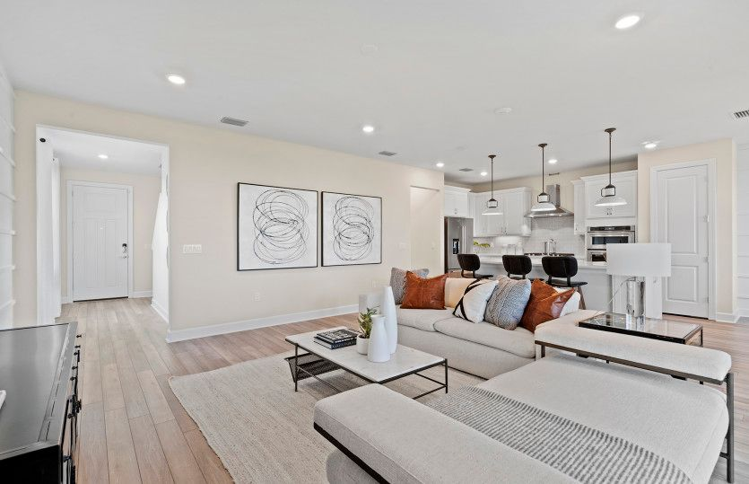 Living Area featured in the Trailside By DiVosta Homes in Sarasota-Bradenton, FL