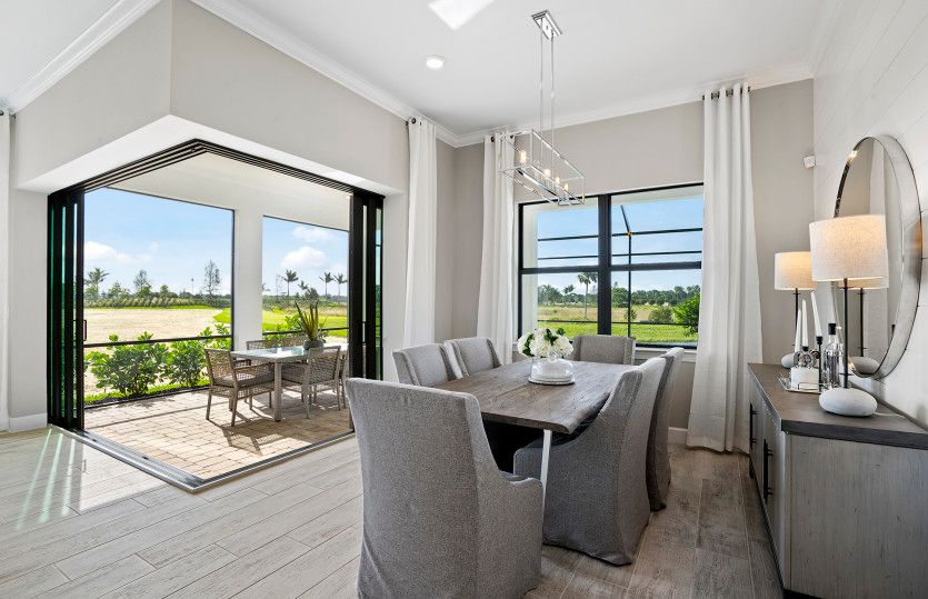 Living Area featured in the Mystique By DiVosta Homes in Sarasota-Bradenton, FL