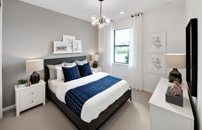 Bedroom featured in the Hallmark By DiVosta Homes in Sarasota-Bradenton, FL