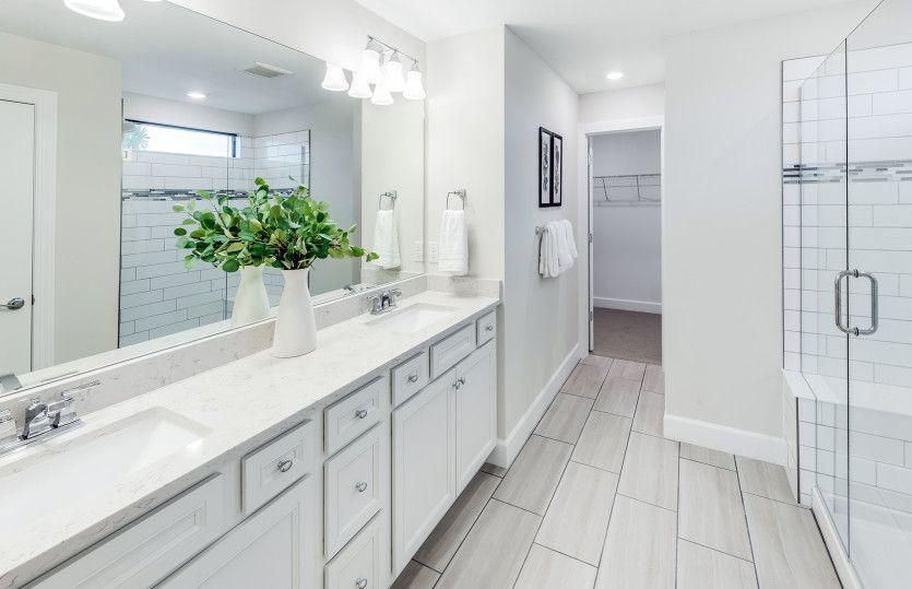 Bathroom featured in the Trailside By DiVosta Homes in Sarasota-Bradenton, FL