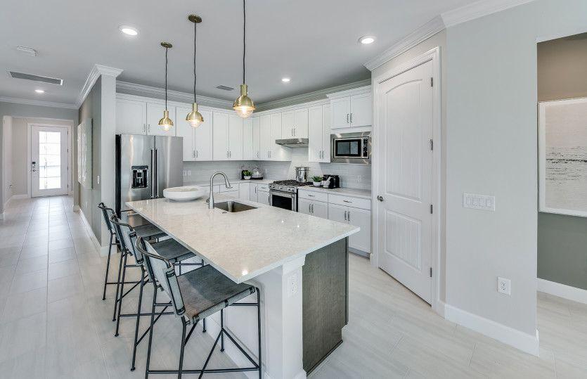 Kitchen featured in the Mystique By DiVosta Homes in Naples, FL