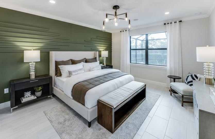 Bedroom featured in the Mystique By DiVosta Homes in Naples, FL