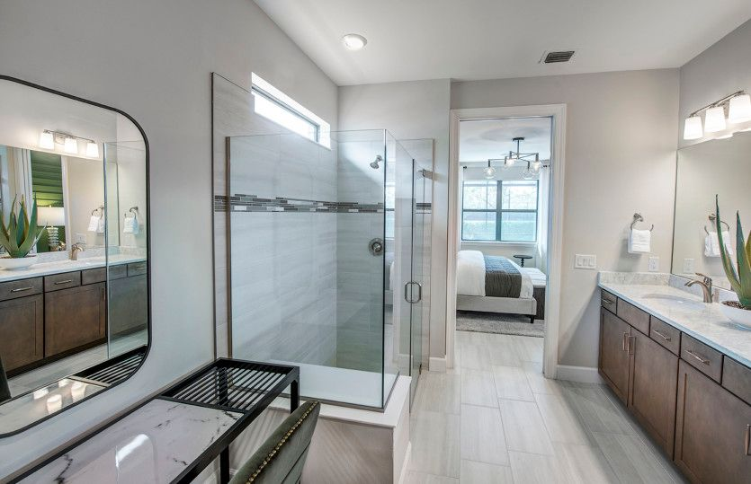 Bathroom featured in the Mystique By DiVosta Homes in Naples, FL