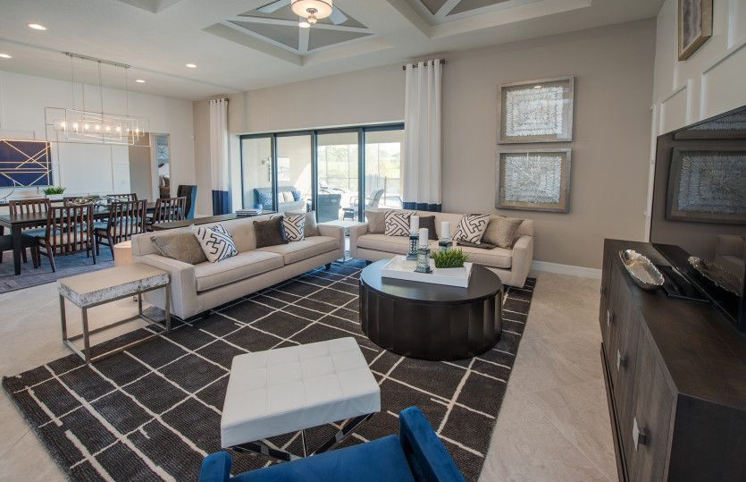 Living Area featured in the Tangerly Oak By DiVosta Homes in Palm Beach County, FL
