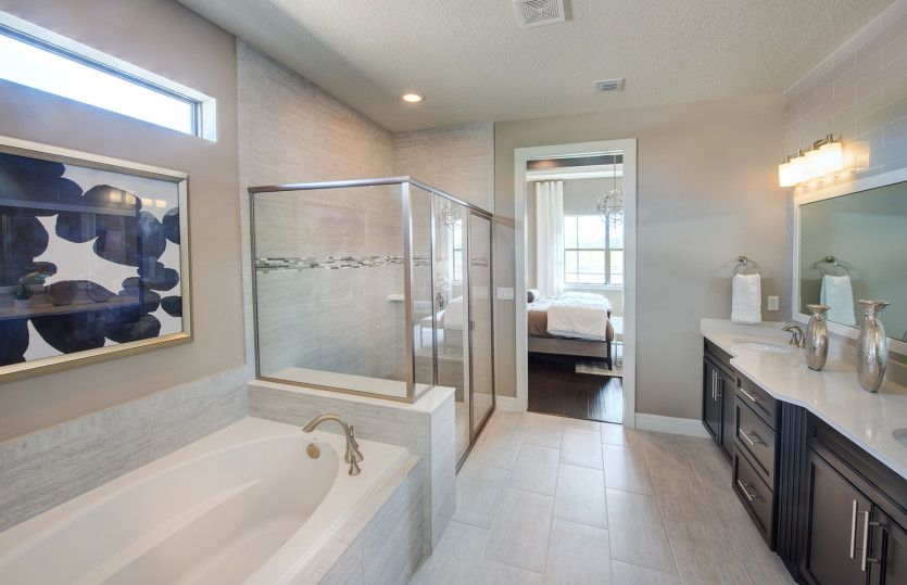 Bathroom featured in the Tangerly Oak By DiVosta Homes in Palm Beach County, FL