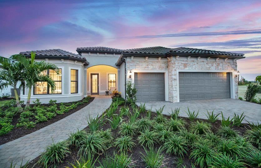 Exterior featured in the Stellar By DiVosta Homes in Sarasota-Bradenton, FL
