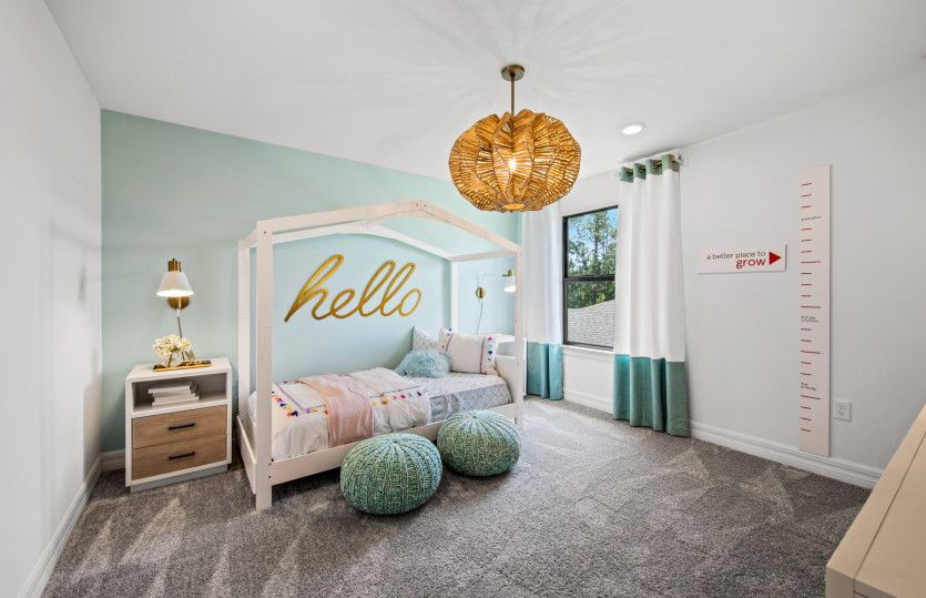Bedroom featured in the Whitestone By DiVosta Homes in Sarasota-Bradenton, FL