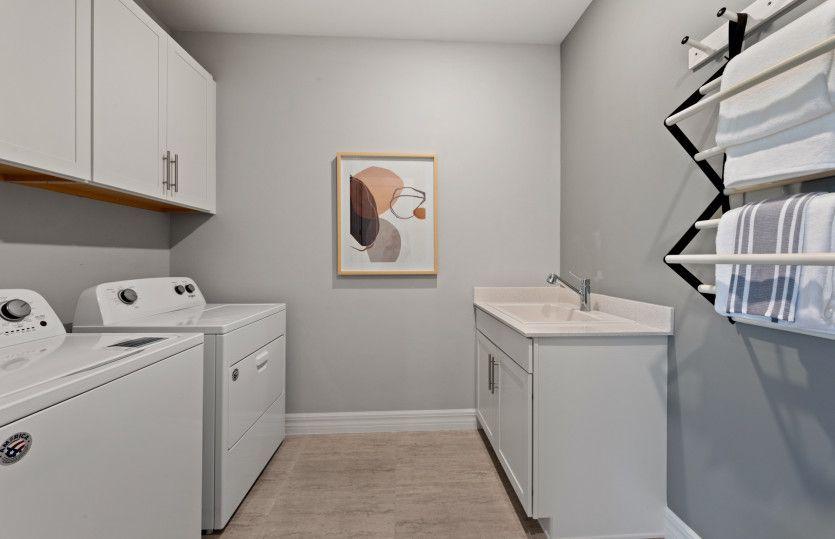 Living Area featured in the Whitestone By DiVosta Homes in Sarasota-Bradenton, FL