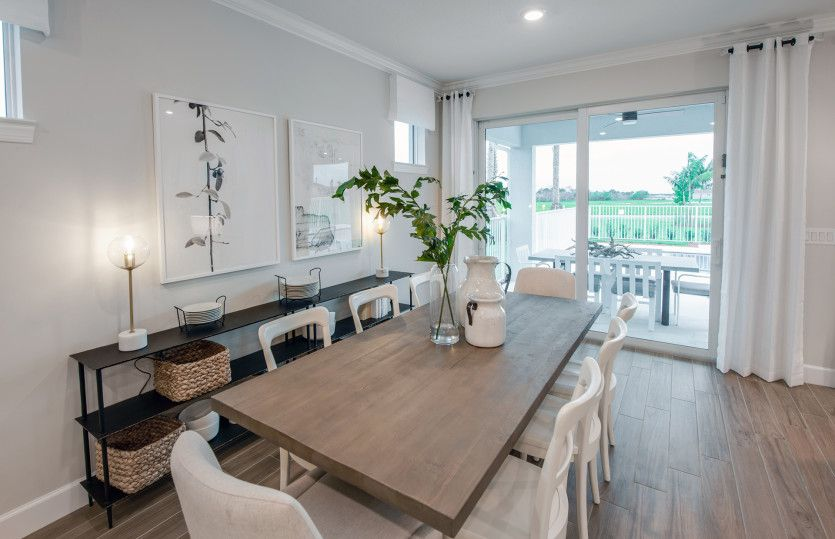 Living Area featured in the Palmary By DiVosta Homes in Sarasota-Bradenton, FL