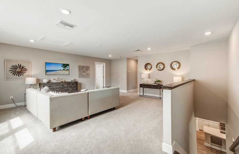 Living Area featured in the Citrus Grove By DiVosta Homes in Sarasota-Bradenton, FL