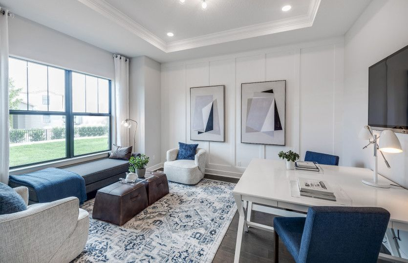 Living Area featured in the Ashby By DiVosta Homes in Martin-St. Lucie-Okeechobee Counties, FL