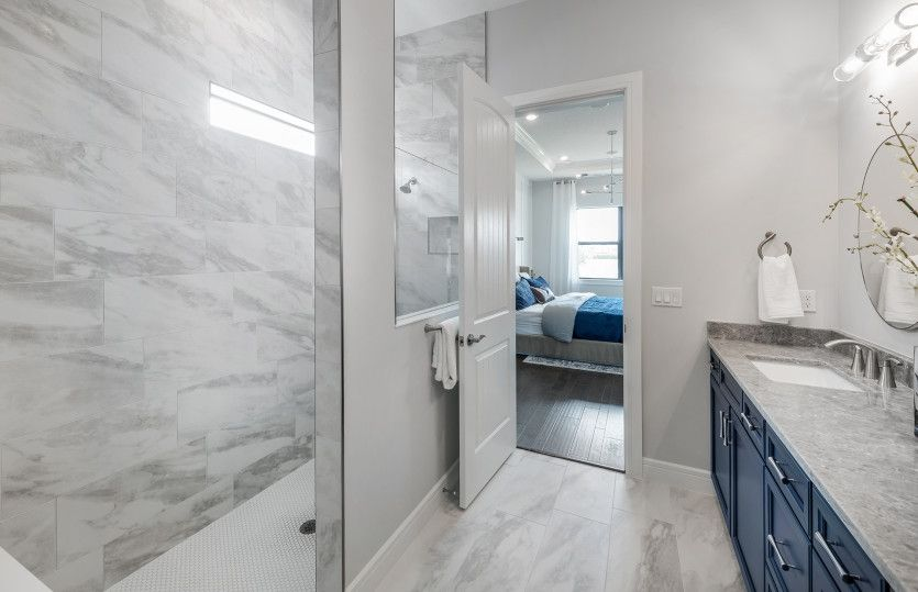 Bathroom featured in the Ashby By DiVosta Homes in Palm Beach County, FL