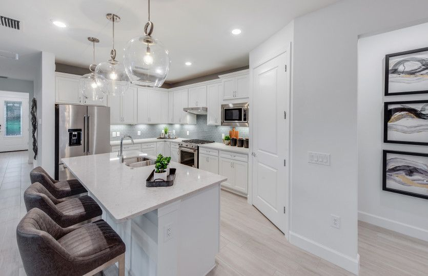 Kitchen featured in the Mystique By DiVosta Homes in Palm Beach County, FL