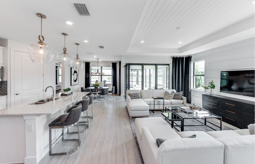 Living Area featured in the Mystique By DiVosta Homes in Palm Beach County, FL