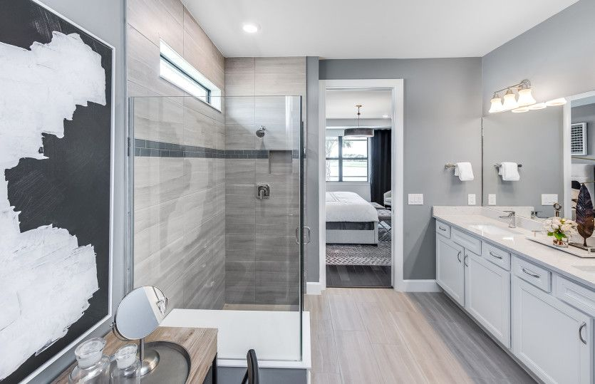 Bathroom featured in the Mystique By DiVosta Homes in Palm Beach County, FL