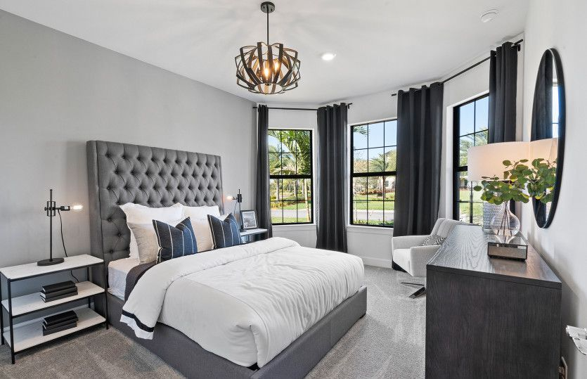 Bedroom featured in the Mystique By DiVosta Homes in Palm Beach County, FL