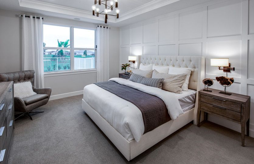 Bedroom featured in the Palmary By DiVosta Homes in Palm Beach County, FL
