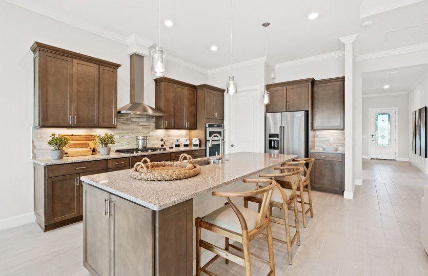 Kitchen featured in the Prestige By DiVosta Homes in Palm Beach County, FL