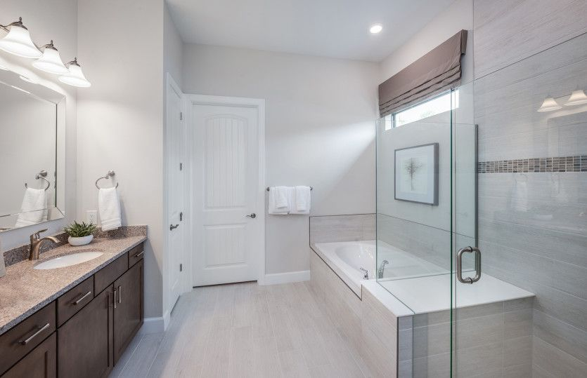 Bathroom featured in the Prestige By DiVosta Homes in Palm Beach County, FL