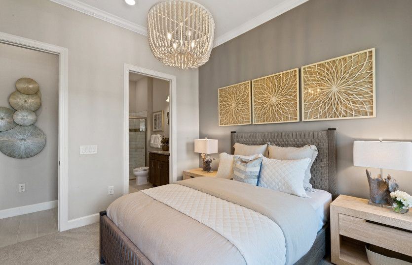 Bedroom featured in the Prestige By DiVosta Homes in Palm Beach County, FL