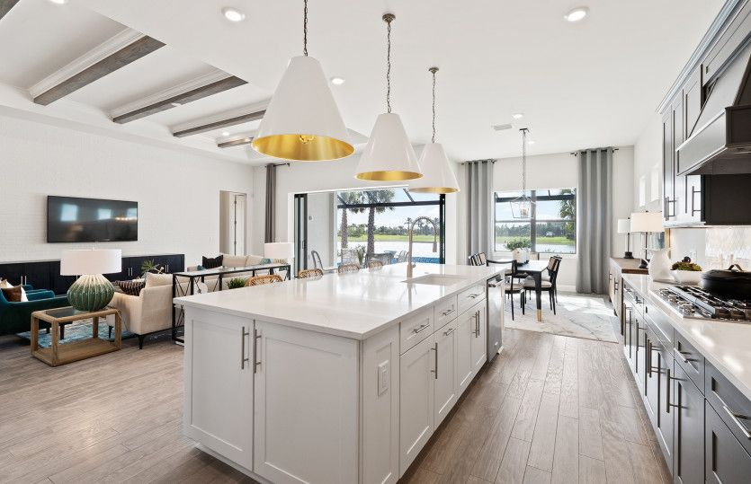 Living Area featured in the Stellar By DiVosta Homes in Palm Beach County, FL