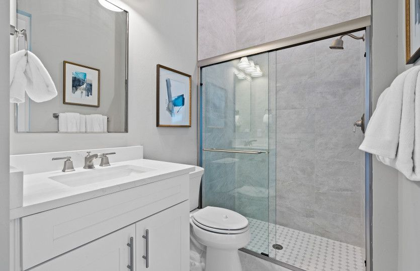 Bathroom featured in the Stellar By DiVosta Homes in Palm Beach County, FL