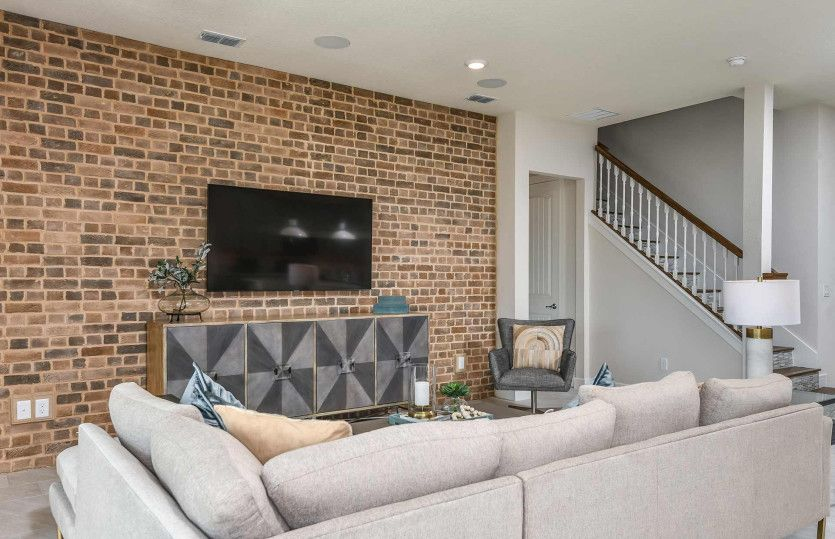 Living Area featured in the Whitestone By DiVosta Homes in Palm Beach County, FL