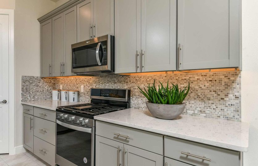 Kitchen featured in the Whitestone By DiVosta Homes in Palm Beach County, FL
